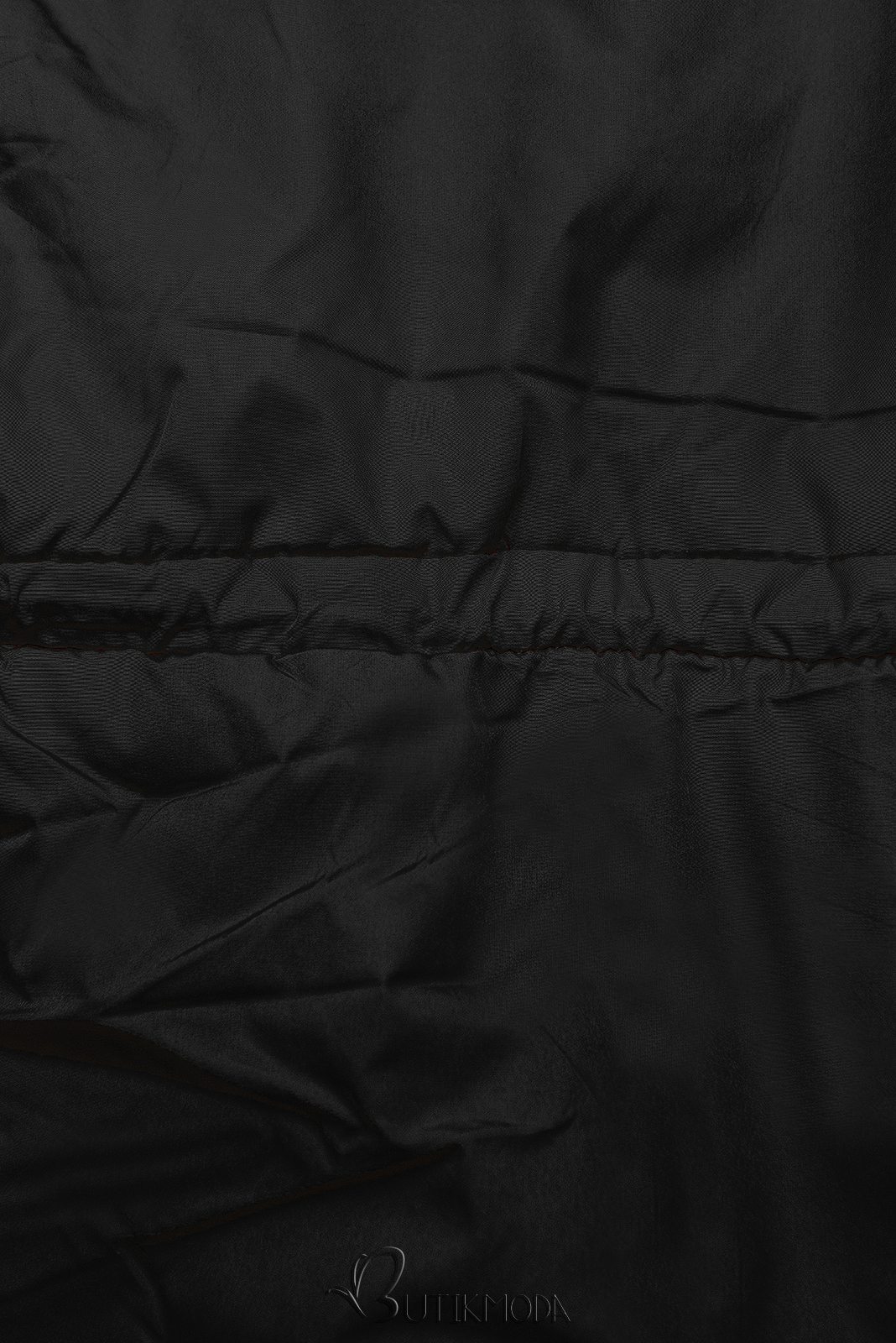 Geacă ușoară matlasată neagră