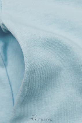 Rochie baby blue cu aplicație SUMMER