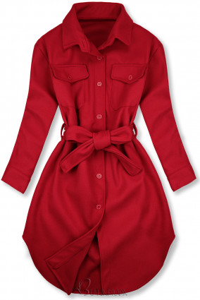 Palton lejer roșu